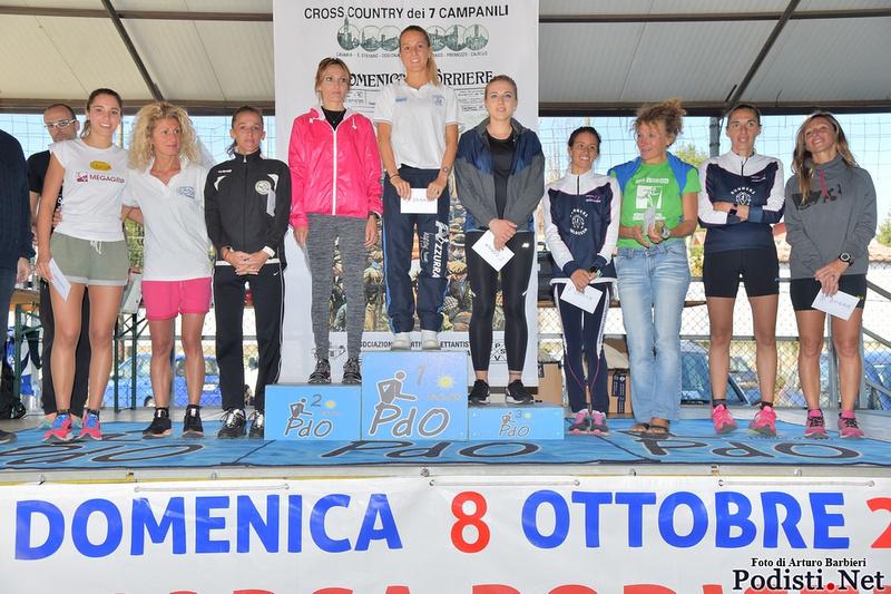 podio femminile sette campanili 103