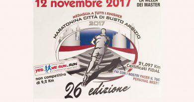 maratonina di busto 2017