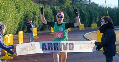 ARRIVO CROSS DI NATALE CASORATE SEMPIONE