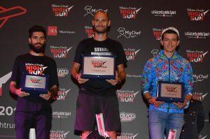 podio maschile milano linate night run