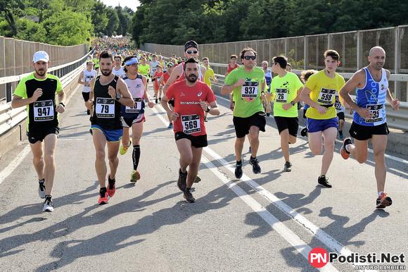 partenza fulgor run 2018 ponte