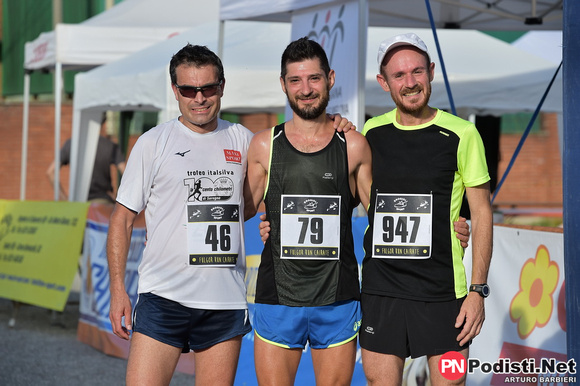 podio maschile fulgor run 2018