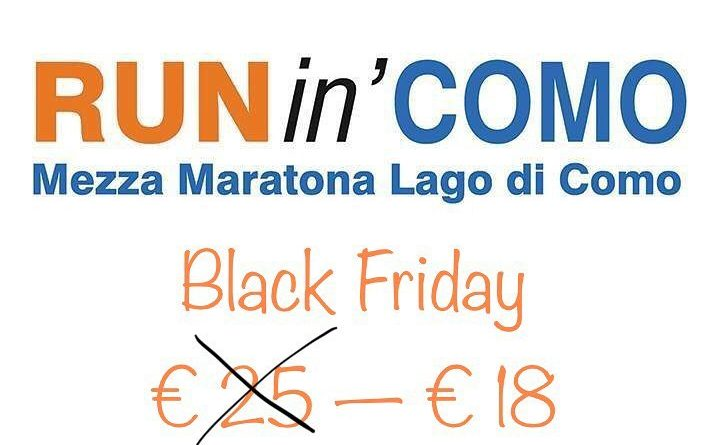 RUNin'Como Black Friday 2018