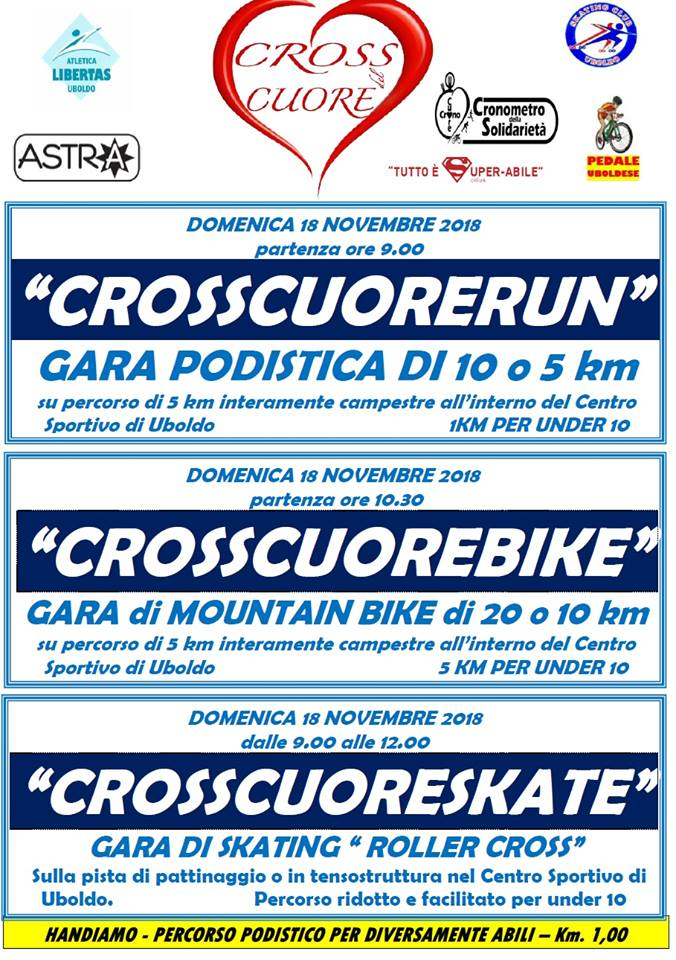 Crosscuorerun @ Uboldo (Centro Sportivo) | Uboldo | Lombardia | Italia