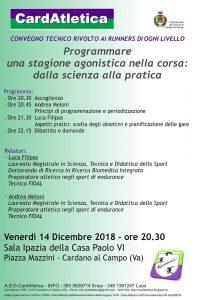 Programmare una stagione agonistica nella corsa @ Cardano al Campo | Cardano Al Campo | Lombardia | Italia