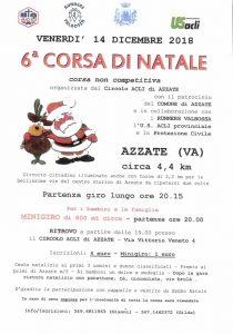 6ª Corsa di Natale @ Azzate
