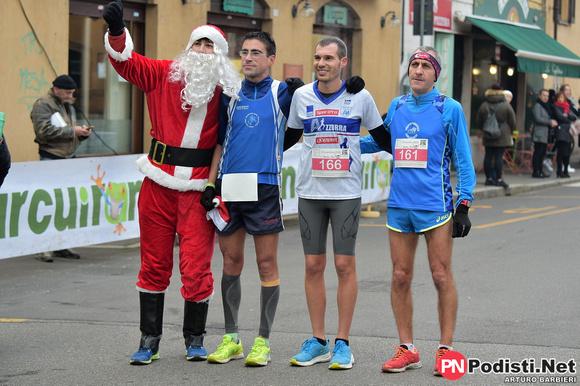podio Babbo Run Nerviano 2018