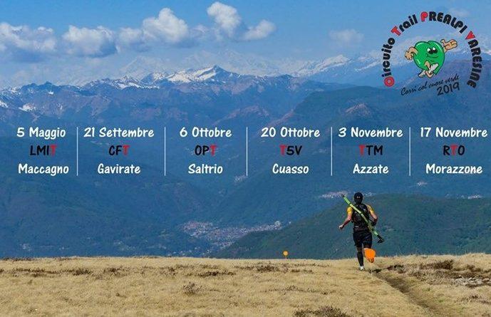 Calendario Circuito Trail Prealpi Varesine 2019