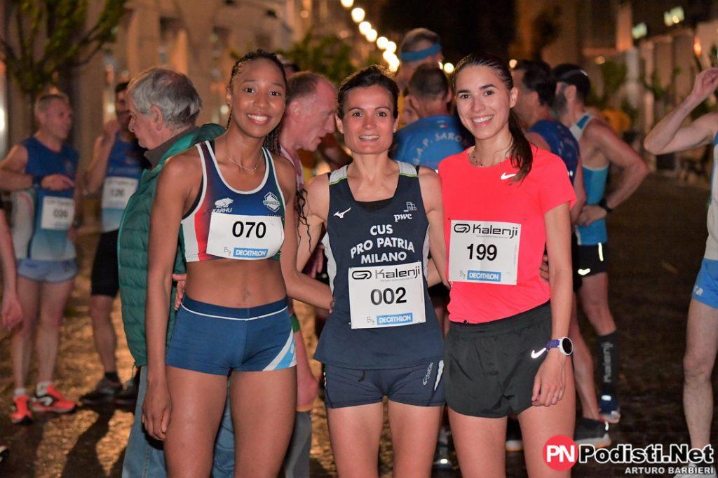 podio femminile saronno running day 2019