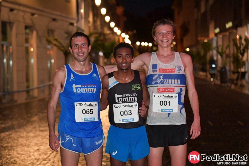 podio maschile saronno running day 2019