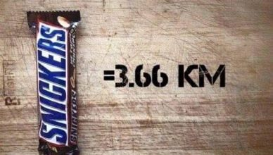 calorie snickers corsa