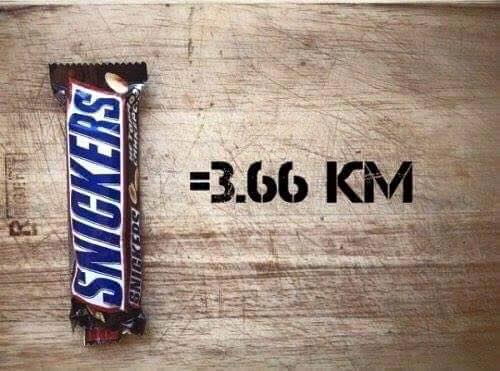 calorie snickers corsa