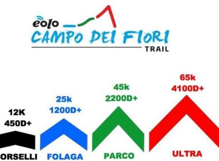 Eolo Campo dei Fiori Trail raddoppia