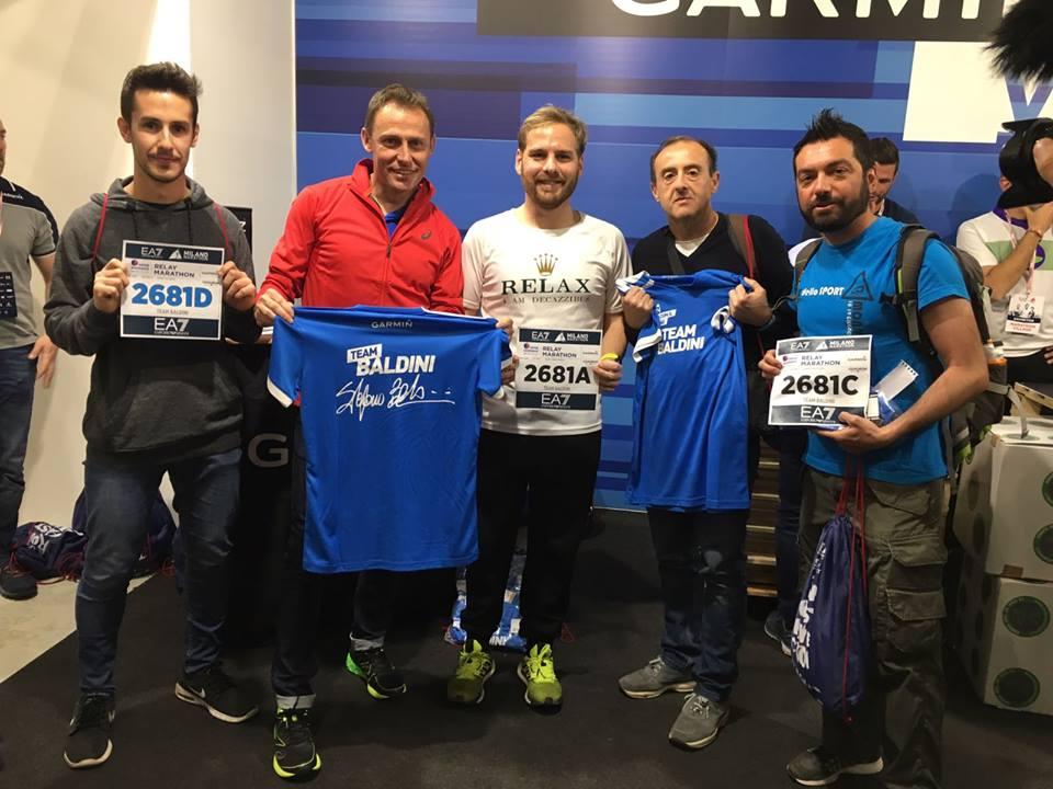 team baldini milano relay marathon