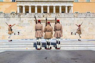 euzoni cambio guardia greca