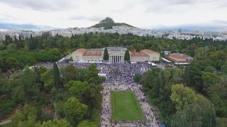 vista zappeion greece race