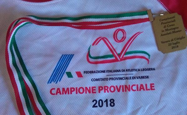 campione provinciale corsa in montagna
